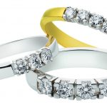 wit en geel gouden alliance ringen briljant foto6746