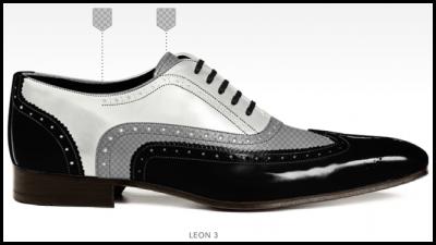 Zelf schoenen ontwerpen Stap 3