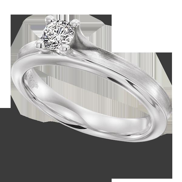 Gouden verlovingsring afbeeldingen witgouden solitaire briljant ring foto102
