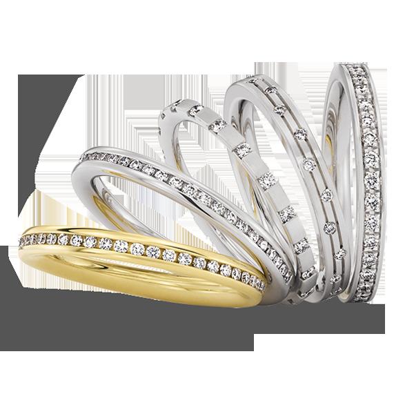 Gouden verlovingsring afbeeldingen diverse gouden alliance briljant ringen foto101