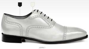trouwschoenen Bergen op Zoom heren schoenen online afbeeldingen foto2157 trouwschoen wit john1