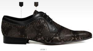 barli schoenen zelf ontwerpen afbeeldingen heren online fotos58 zwart grijs leon1a