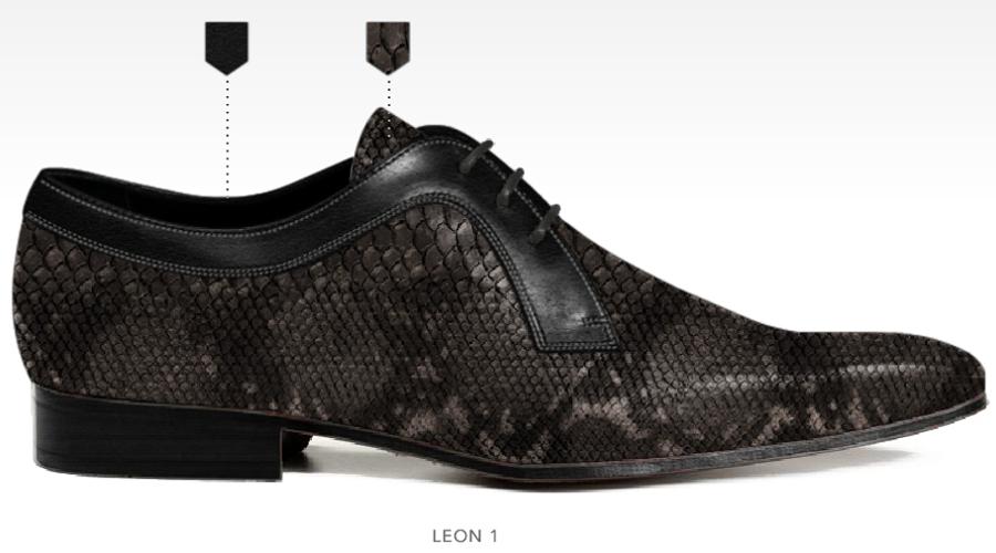 barli schoenen afbeeldingen heren online foto58 zwart grijs leon1