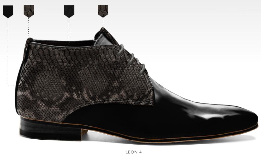 barli schoenen afbeeldingen heren online foto60 zwart grijs leon4