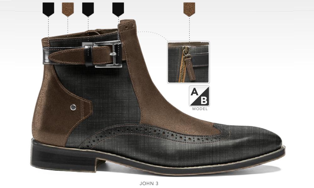 barli schoenen afbeeldingen heren online foto63 zwart bruin john3