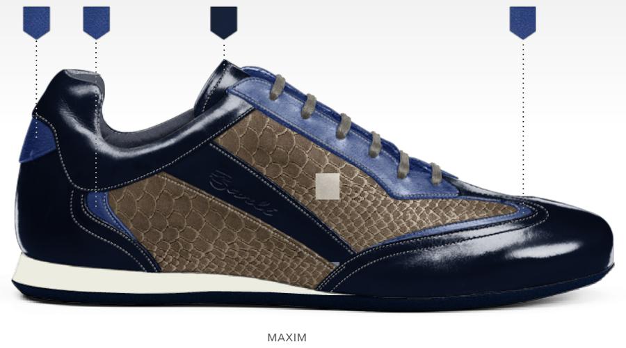 barli schoenen afbeeldingen heren online foto64 blauw beige maxim