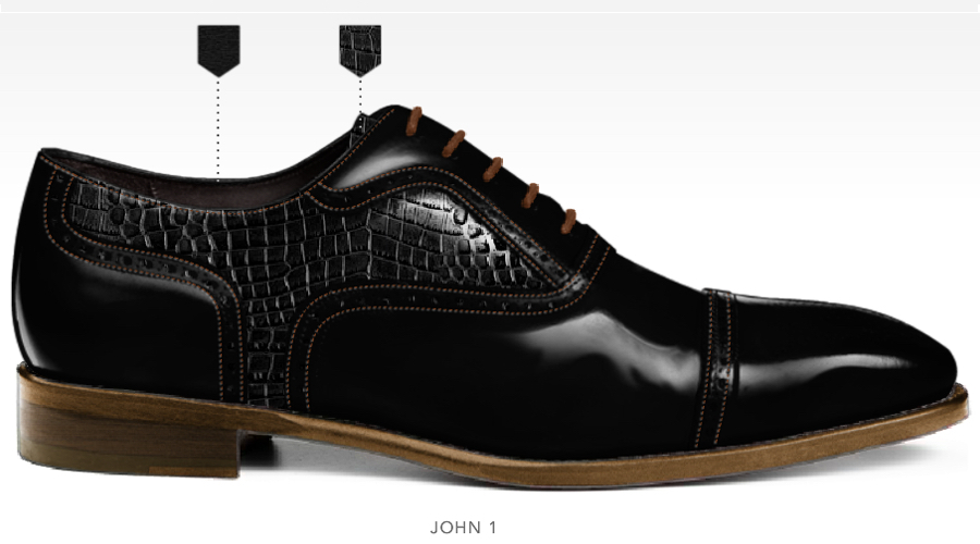 barli schoenen afbeeldingen heren online foto77 zwart print john1