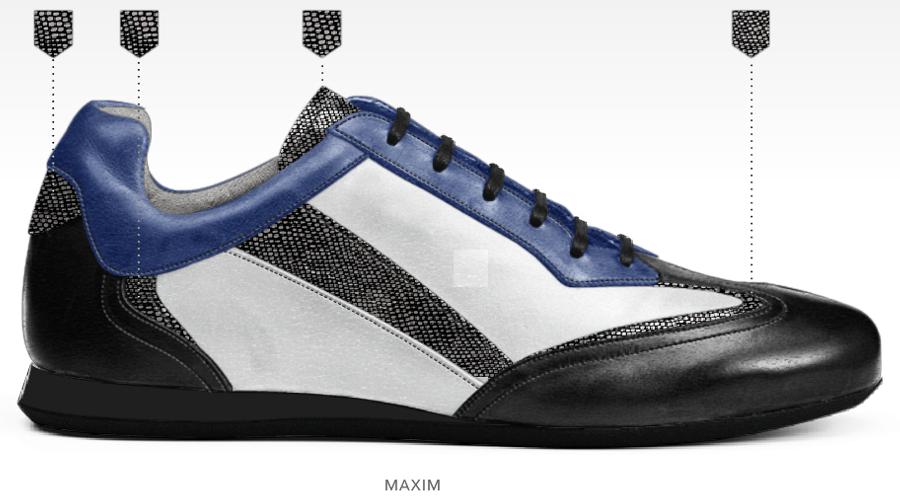 barli schoenen afbeeldingen heren online foto84 zwart blauw wit maxim