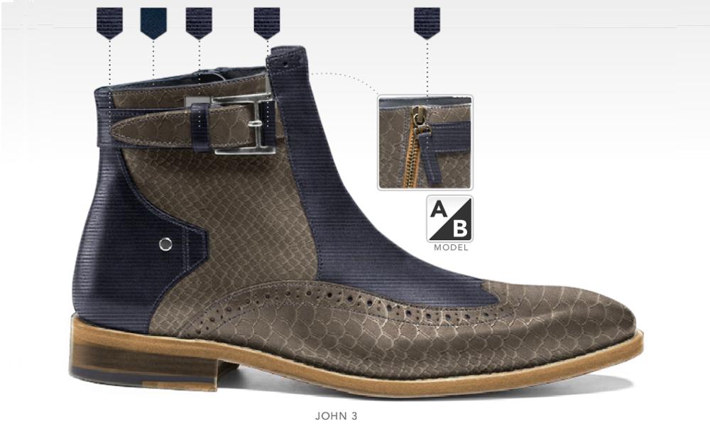 barli schoenen afbeeldingen heren online foto85 blauw beige john3