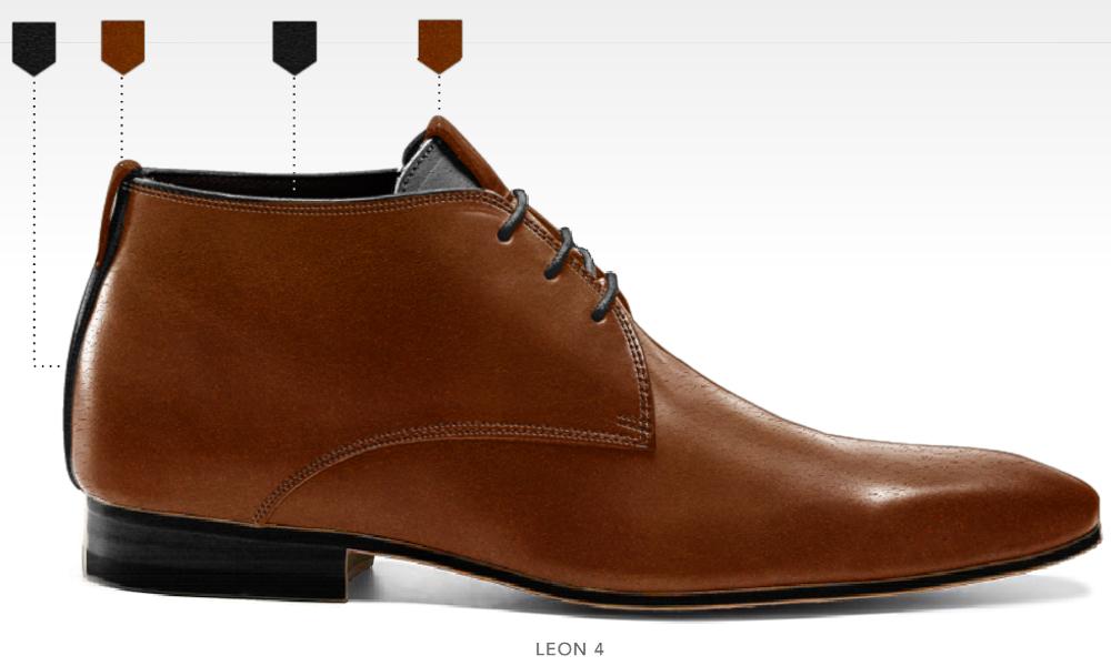 business schoenen afbeeldingen heren online zakelijk foto69 cognac bruin leon4