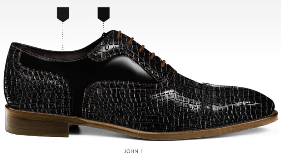 business schoenen afbeeldingen heren online zakelijk foto74 zwart kroko john1