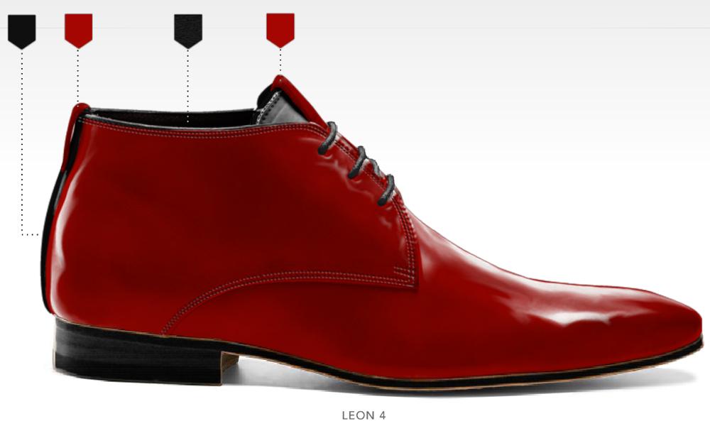 business schoenen afbeeldingen heren online zakelijk foto83 rood leon4