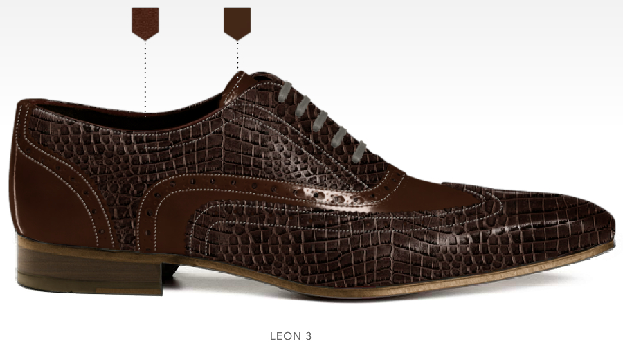 business schoenen afbeeldingen heren online zakelijk foto88 bruin print leon3