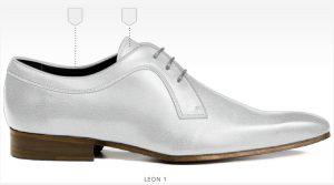 trouwschoenen Bergen op Zoom heren schoenen online afbeeldingen foto2155 trouwschoen wit leon1