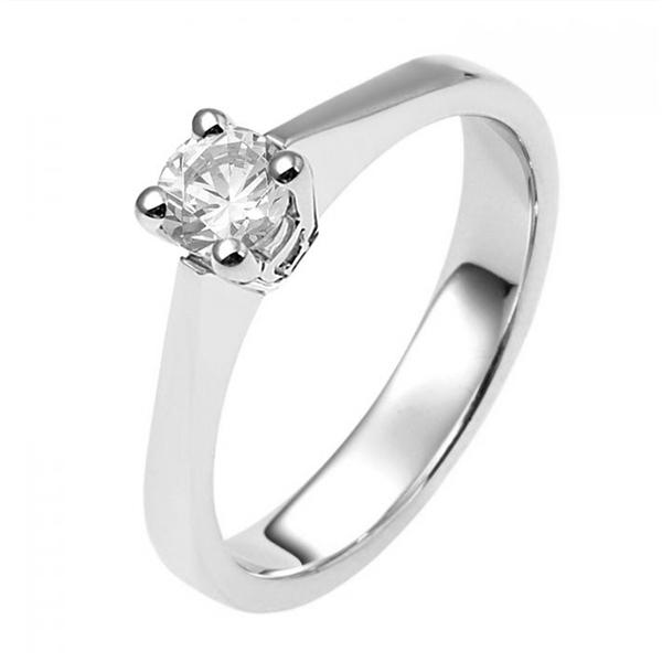 zilveren verlovingsring afbeeldingen foto2 soltaire ring model 04Z