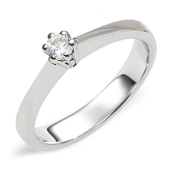 zilveren verlovingsring afbeeldingen foto3 soltaire ring model 05Z