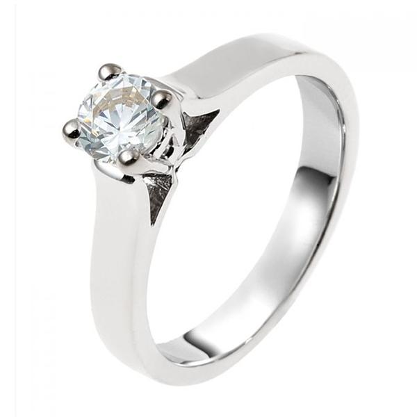 zilveren verlovingsring afbeeldingen foto4 soltaire ring model 12Z