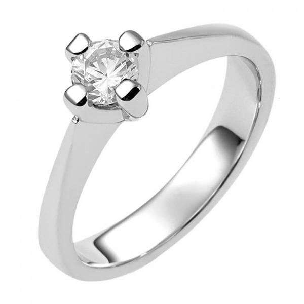 zilveren verlovingsring afbeeldingen foto6 soltaire ring model 18Z