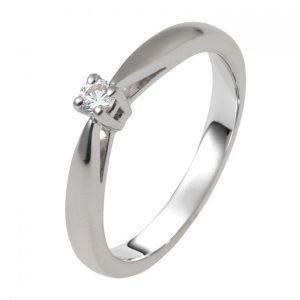 Verlovingsringen Breda Aanzoeksringen foto777 zilveren soltaire ring zirkonia model 22Z foto111
