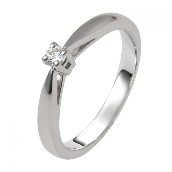 zilveren verlovingsring afbeeldingen foto7 soltaire ring model 22Z