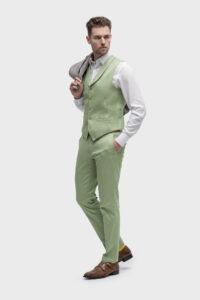 casual groen trouwpak breda TPB0004